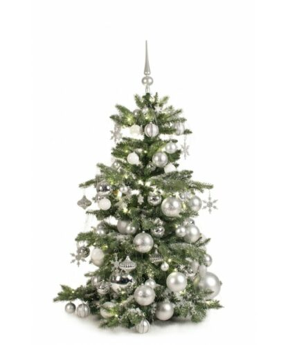 Luxury Tree Bright and Silver 120cm-0