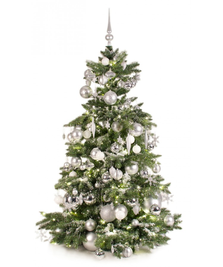Luxury Tree Bright and Silver 150cm-0