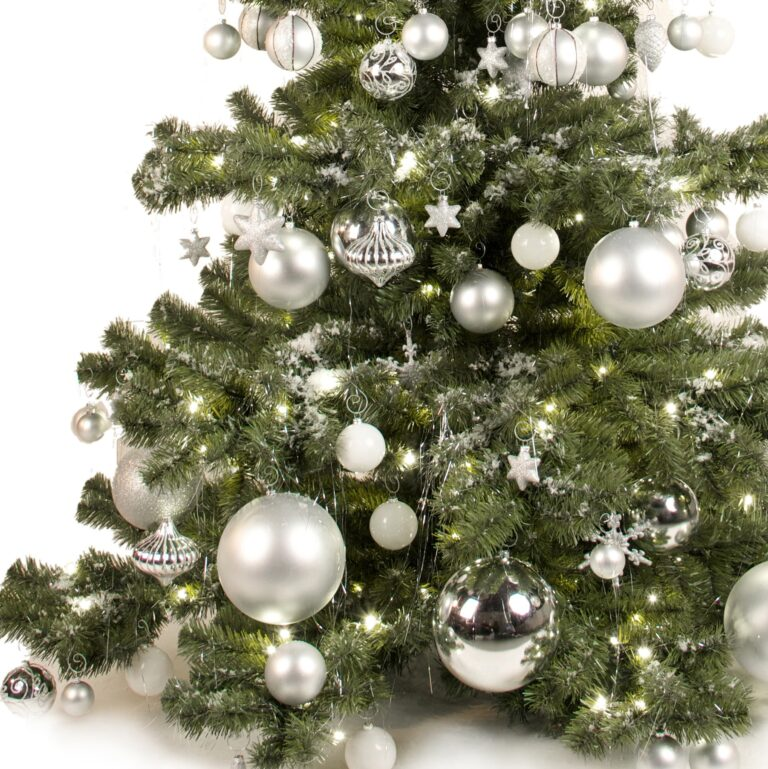 Basic Tree Bright and Silver 210cm-1653