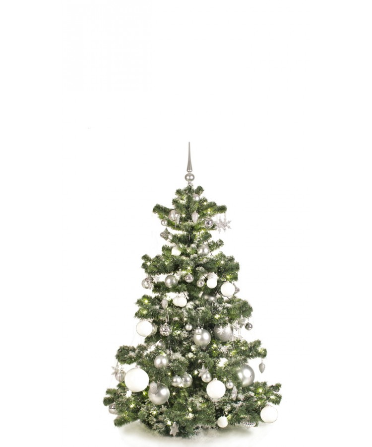 Basic Tree Bright and Silver 150cm-0