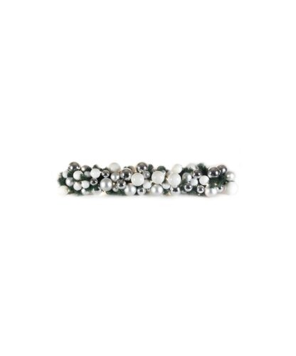 Luxury Garland Bright and Silver 100cm-0